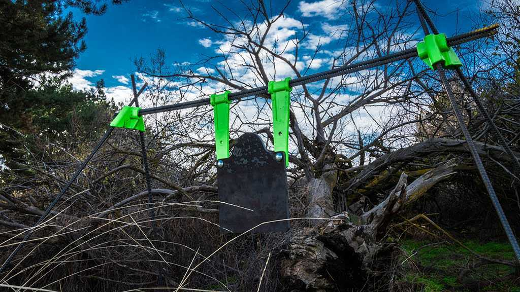 The Last Stand target system is easy to take with you into any terrain and set up is quick and painless.